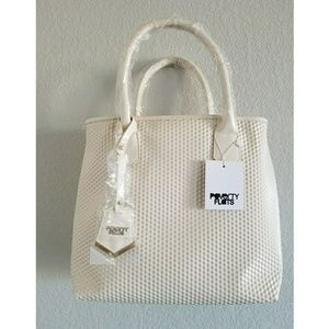 Poverty Flats Bags - NWT Poverty Flats geometric textured tote